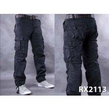 Kalhoty pánské kapsáče A3273-1