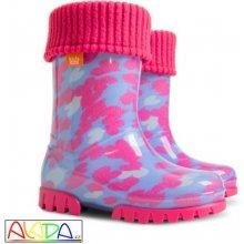 Demar Twister Lux Print růžová