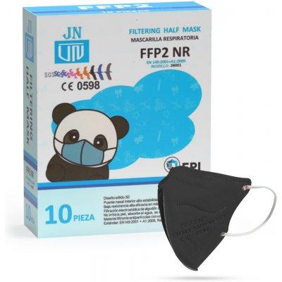 Jinhuan JN001 dětský respirátor FFP2 NR černý 10 ks