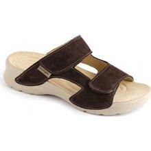 Medistyle zdravotní pantofle MIRKA LM-T14 hnědá 17beaa51b6