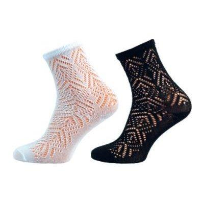 Novia ponožky Dana 32S krajka černá