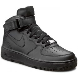 Dámská obuv Nike Air Force 1 Mid Gs 314195 004 Black Black 752fa5a8143