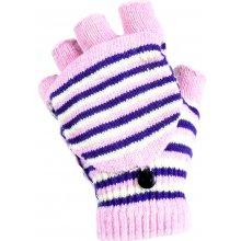 0ed0e7d6cc0 Banasport dámské bezprsté pletené rukavice světle růžová