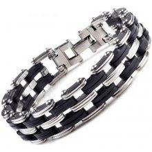Ziskoun náramek z chirurgické oceli řetěz Quattro chain ON20 a1ff8941dd4