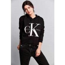 Calvin Klein Jeans s kapucí černá