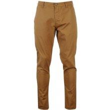 Kangol pánské plátěné kalhoty, tmavě pískové