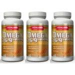 Vitaland Omega 3-6-9 1200 mg 60 tbl. 2 + 1