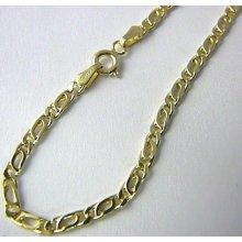 Náramek pánský/dámský mohutný silný zlatý 585/r H457
