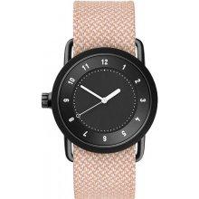 TID Watches No.1 36 Black / Salmon Twain Wristband