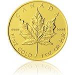 Maple Leaf Česká mincovna Zlatá investiční mince 1 Oz 50 CAD stand 31,1 g