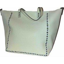 Blumari Elegantní kabelka světle-zelená