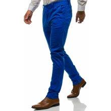 Bolf Modré pánské chino kalhoty 6807
