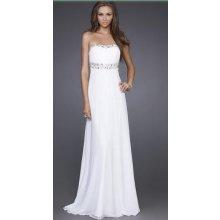 Společenské, svatební šaty bílé