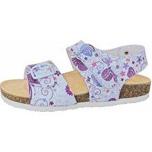 6843bc9d45d3 Protetika Dívčí ortopedické sandály bílé