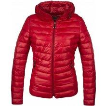 GALLOP s kapucí červená Dámská jarní bunda