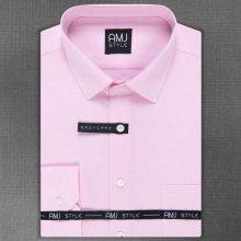 AMJ Pánská Košile růžová s jemnými slzičkami VDS1031 9f269975dc