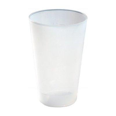 Injeton Plast Vratný kelímek čirá 500 ml