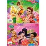 Barevné papíry samolepící Disney Fairies Víla Zvonilka 132322