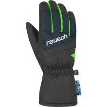 Reusch Bennet R-Tex® Xt Junior dětské prstové rukavice dress blue neon green 9823299616