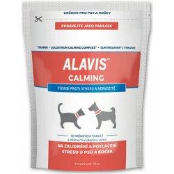 Alavis Calming pro psy & kočky 45 g 30 tbl.
