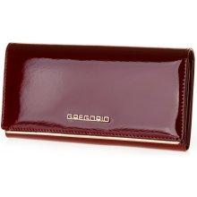 824209aba45 Gregorio Dámská kožená peněženka ZLL-106 červená
