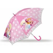Euroswan Deštník Ledové Království růžový