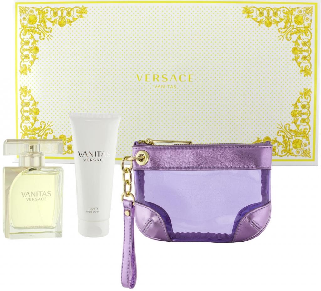 4ccde8ba3 Versace Vanitas EDP 100 ml + tělové mléko 100 ml + etue dárková sada od 2  600 Kč - Heureka.cz