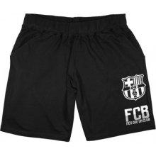 šortky FC Barcelona 18 černé