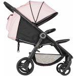 Petite&Mars Stříška + polstrování Street Pastel Pink