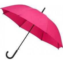 Dámský holový deštník York růžový