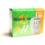 GlucoLab testovací proužky pro glukometr 125 ks