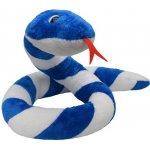 Moravská ústředna Had Suk modrobílý 250cm