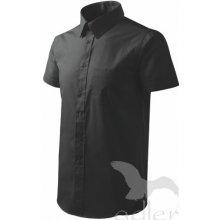 Košile pánská Shirt short sleeve krátký rukáv černá