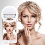 SES 1902010009 Selfie Light univerzální bílé LED světlo