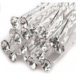 673b697aee9 V V Štrasová vlásenka s kamínkem Ø6 mm - Crystal