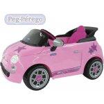 Peg-pérego Fiat 500s pink 6V elektrické vozítko pro děti