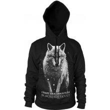 BLACK Craft Lone Wolf pánská mikina Black HS026LF