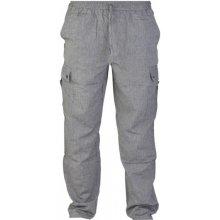 Unisex kalhoty, dlouhé, šedé, kapsy na boku, guma v pase