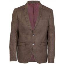 Giorgio suede blazer dark brown