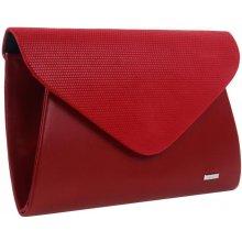 54a4c460d5 Grosso matné dámské psaníčko SP126 Červené