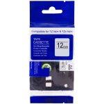 PRINTLINE kompatibilní páska s Brother TZE-231, TZ-231, 12mm, černý tisk/bílý podklad PLTB04