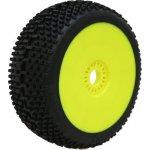 PROCIRCUIT SWEET SHOT medium/modrá směs Off-Road 1:8 Buggy gumy nalep. na žlutých disk. 2ks
