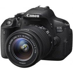 Digitální fotoaparát Canon EOS 700D