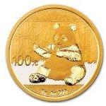Panda Zlatá mince 2017 8 g