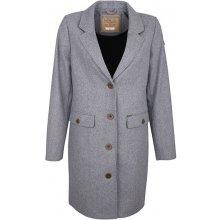 Dreimaster dámský kabát s příměsí vlny 39036840 grau melange
