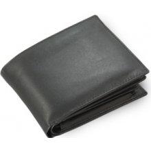 Arwel Pánská kožená peněženka 513 7106 s vloženou dokladovkou černá