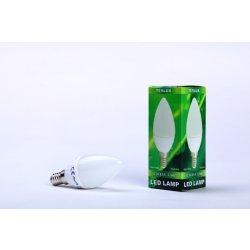 Žárovky Teslux LED žárovka E14 3,5W 35SMD ceramic teplá bílá