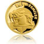 Česká mincovna Zlatá mince Pohádky z mechu a kapradí Křemílek proof 3,11 g