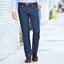 cf5233f21c87 Blancheporte Speciální džíny pro větší bříško modrá