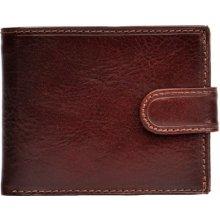HELLIX Pánská kožená peněženka P-1202 hnědá